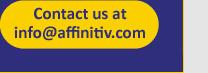 Contact us at info@affinitiv.com